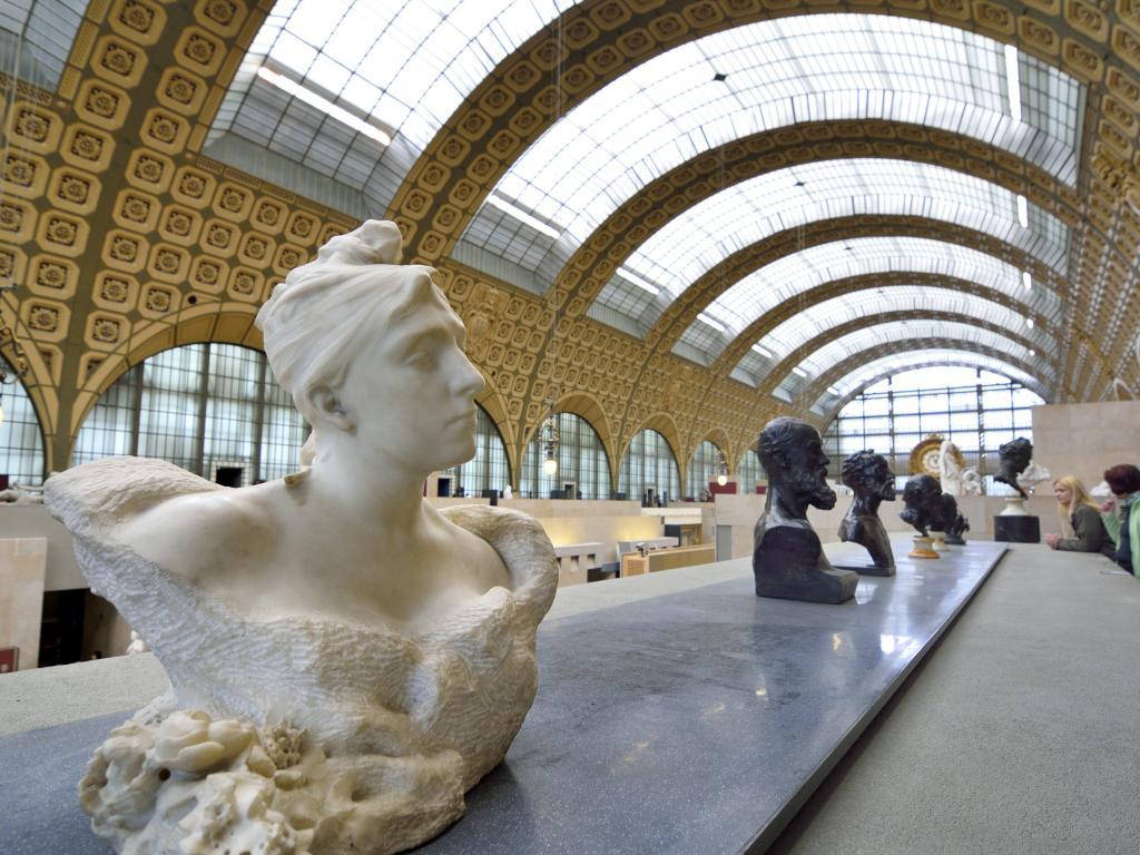 Skulpturen im Musée d'Orsay