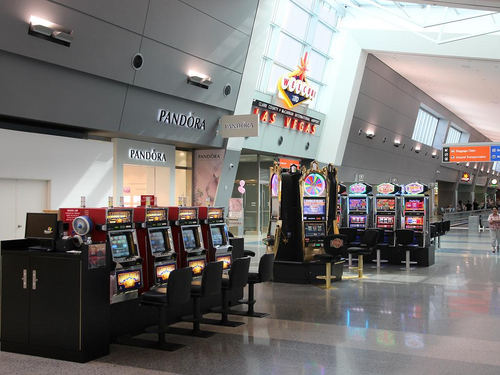 Slot Machines Las Vegas Airport