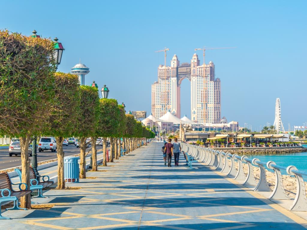Wunderschöne Promenade