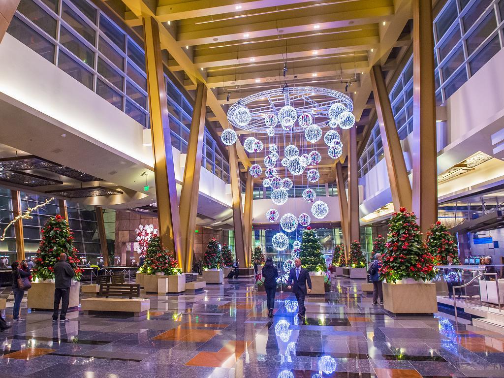 Das Aria Hotel in Las Vegas