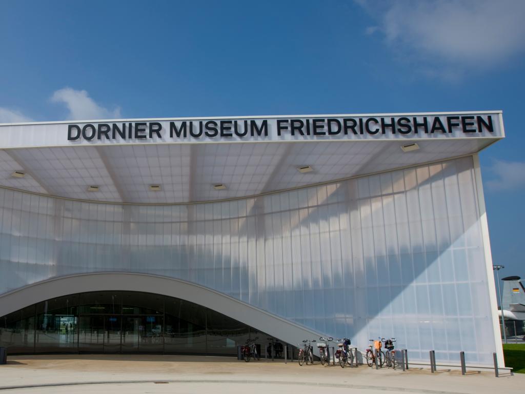 Der Eingang zum Dornier Museum