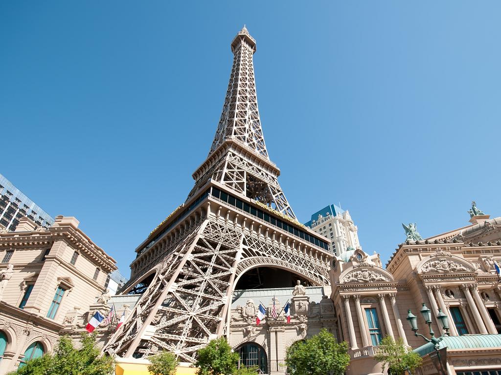 Der Eiffelturm in Las Vegas