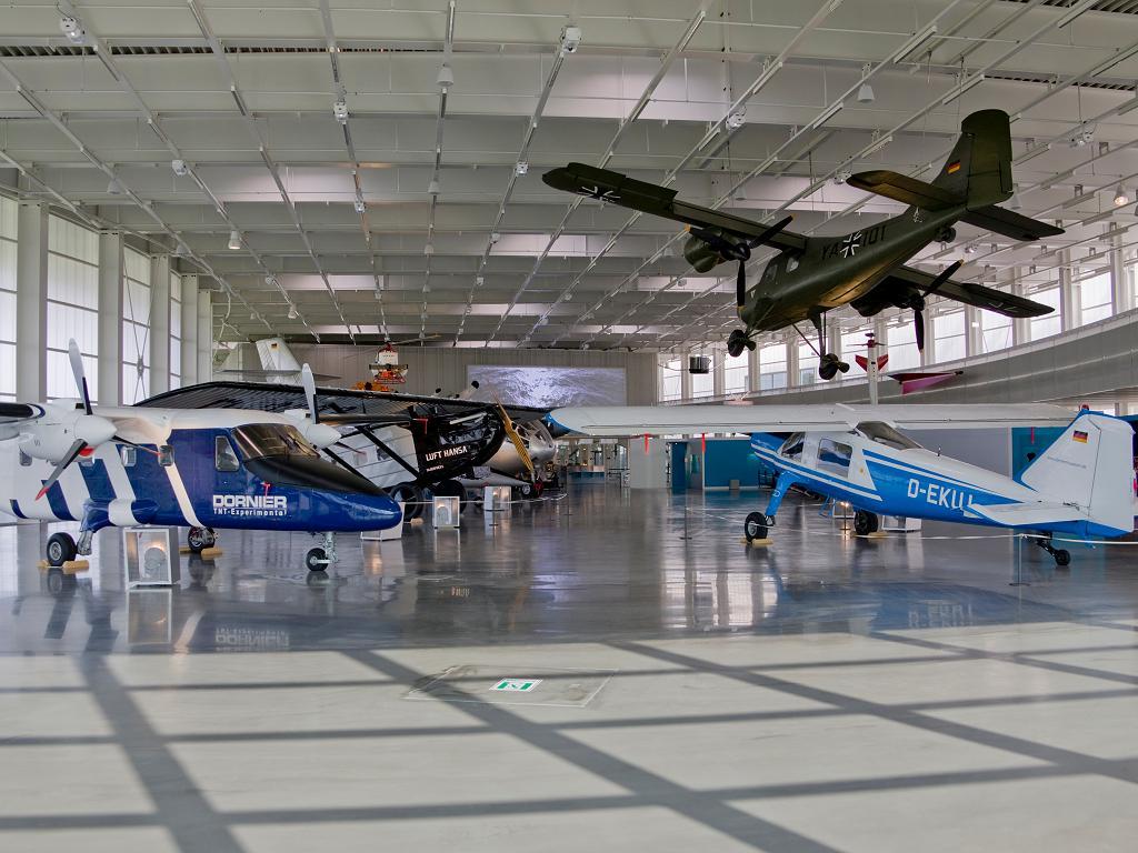 Flugzeuge im Dornier Museum