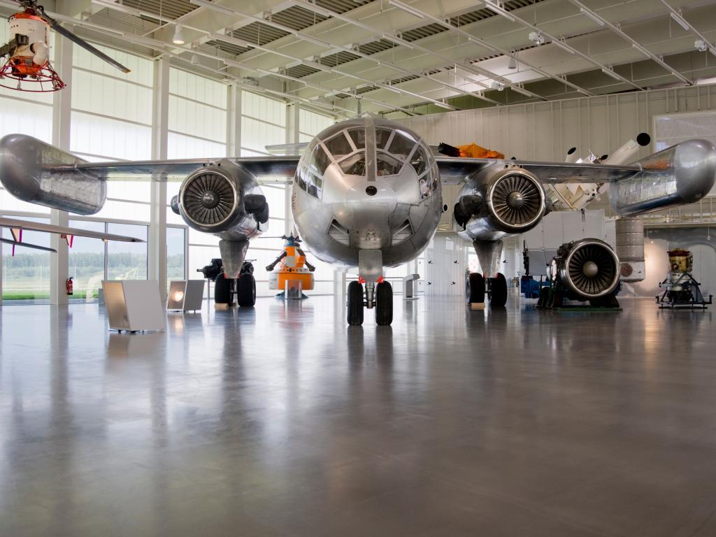 Ein Hangar