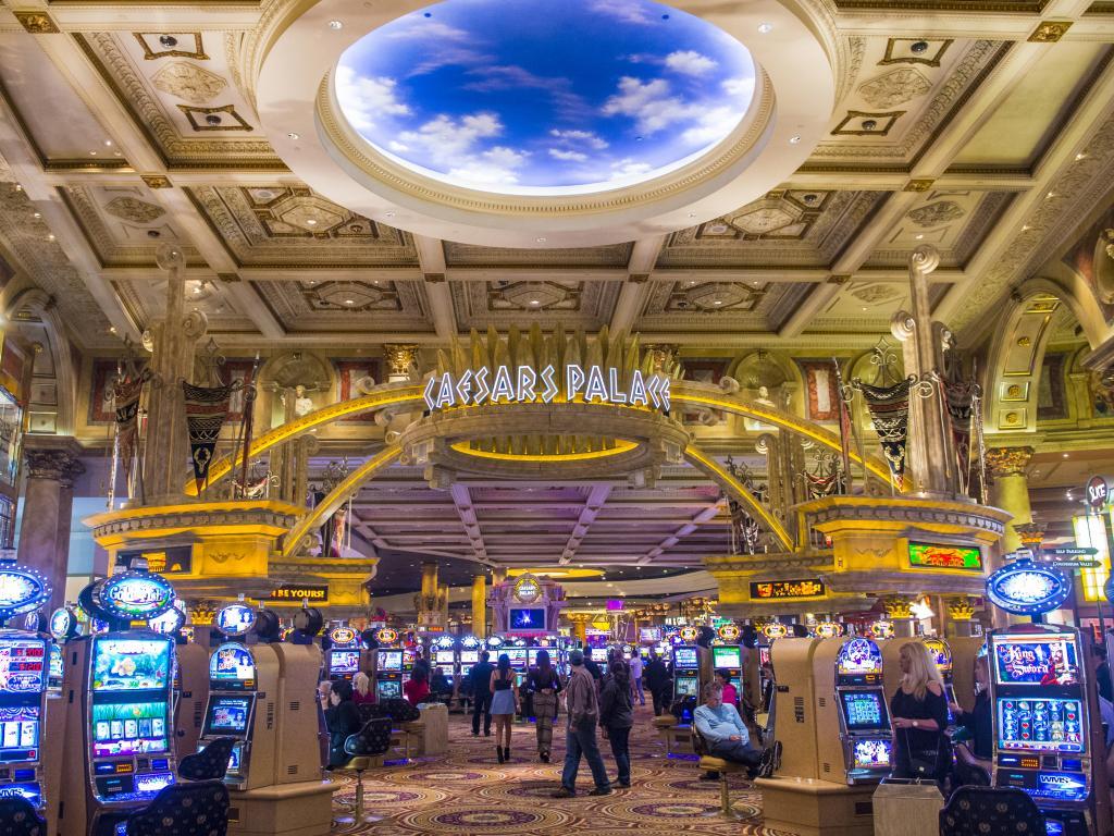 Das Kasino vom Caesars Palace