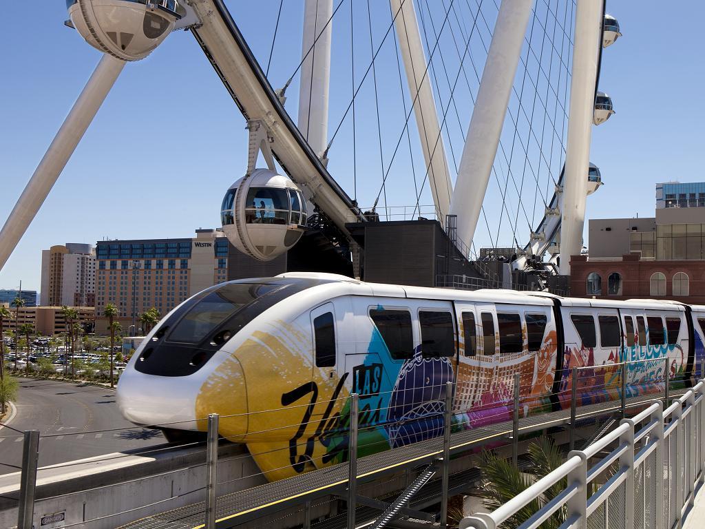 Las Vegas Monorail und Las Vegas High Roller