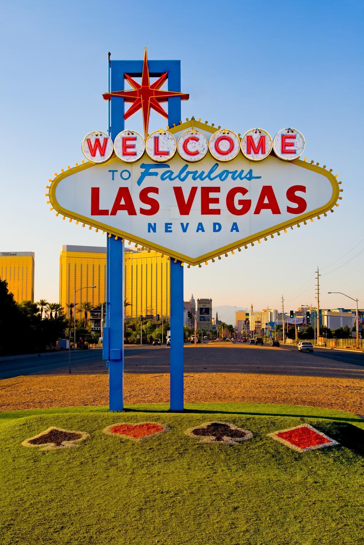 Das Las Vegas Sign in Nevada