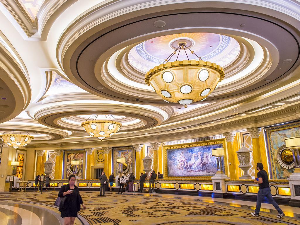 Die Lobby vom Caesars Palace