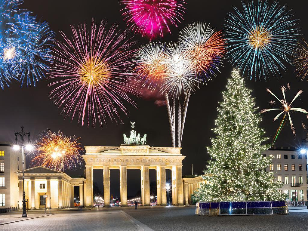 Weihnachten und Silvester am Brandenburger Tor