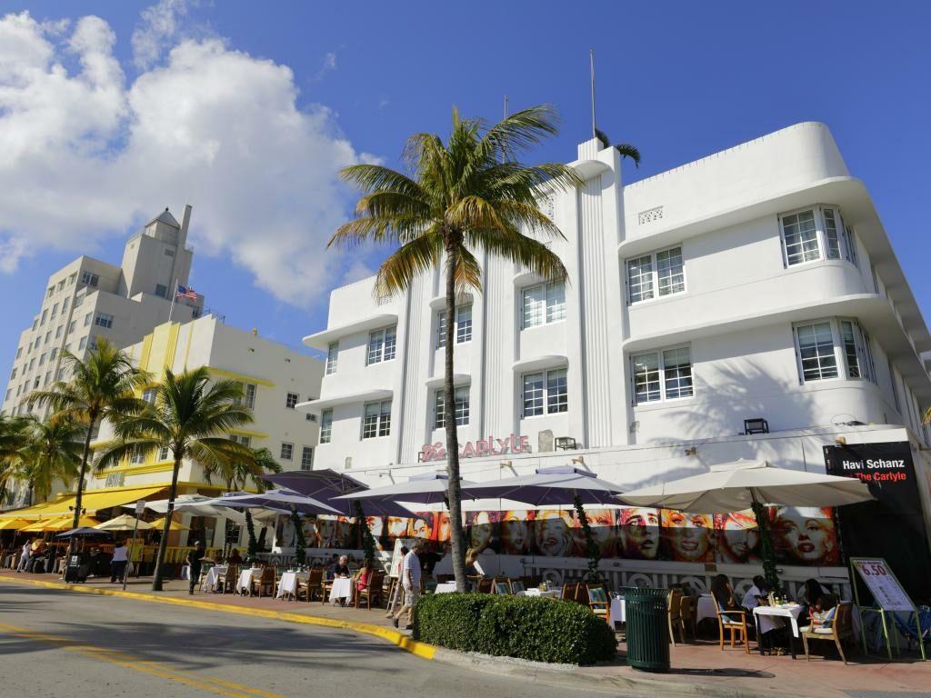 Art Deco Historic District in Miami Beach
