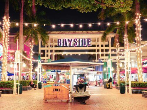 Bayside Marketplace in Miami Florida