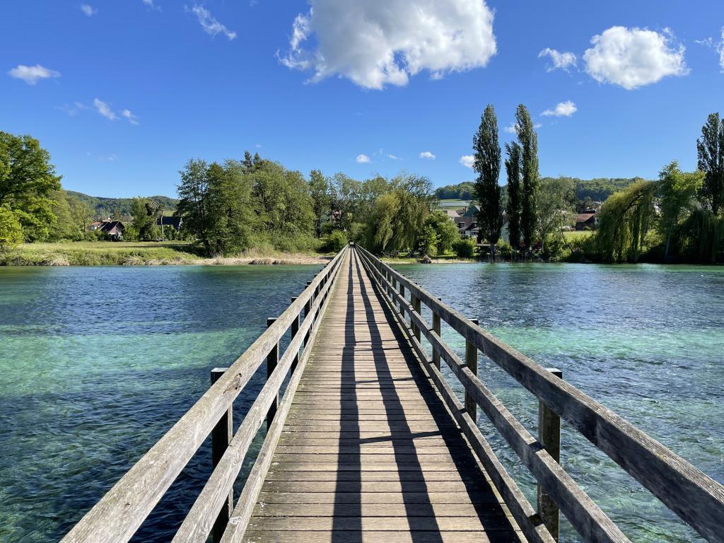 Brücke zur Insel Werd