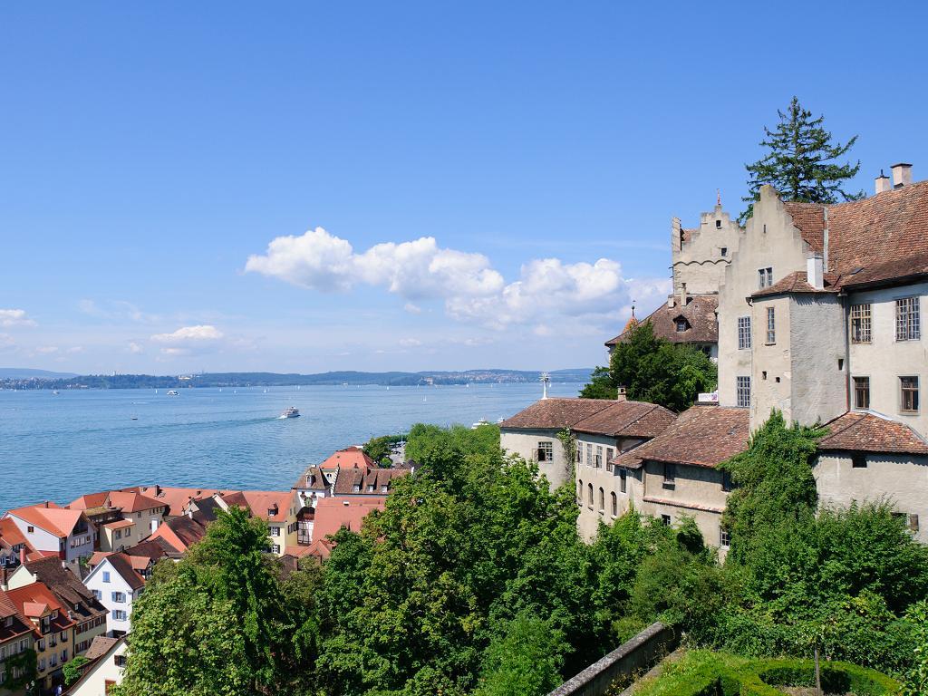 Die Burg von Meersburg