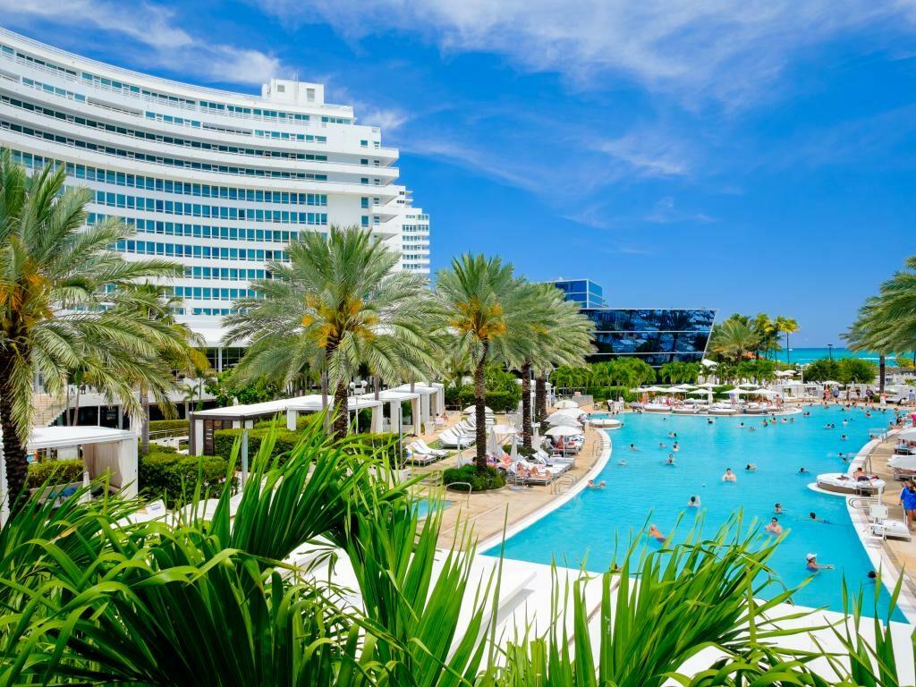 Das Fontainebleau Miami Beach Hotel
