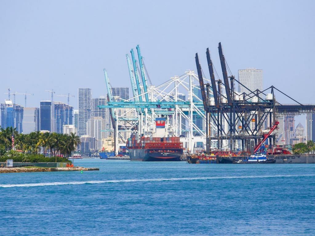 Der Hafen Port of Miami