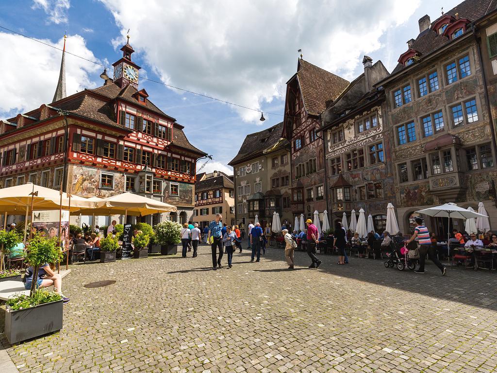Die historische Altstadt von Stein am Rhein