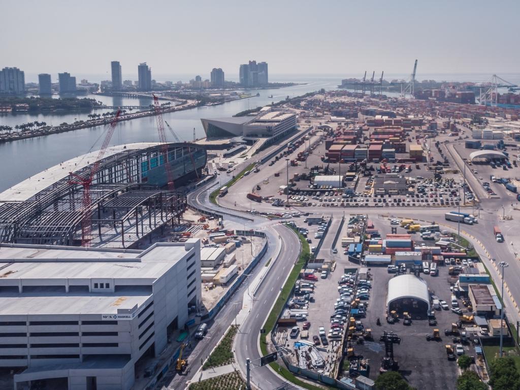 Kreuzfahrthafen Miami