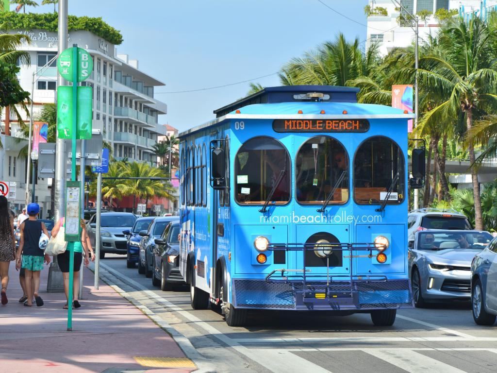 Miami Trolley Bus