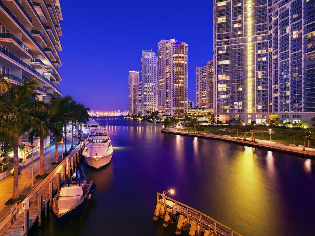 Miami Skyline Downtown