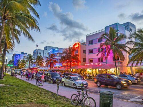 Ocean Drive in Miami Beach
