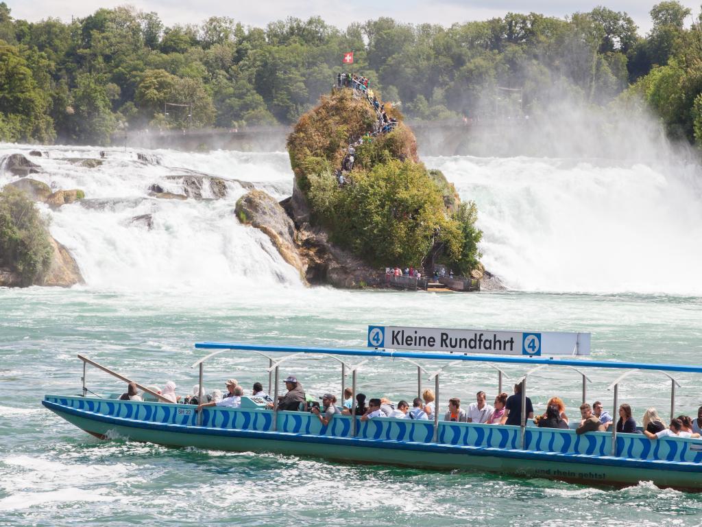Schifffahrt Rheinfall