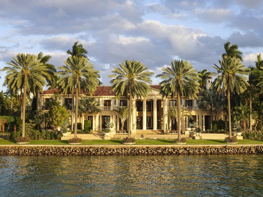 In Miami wohnen viele Prominente Stars