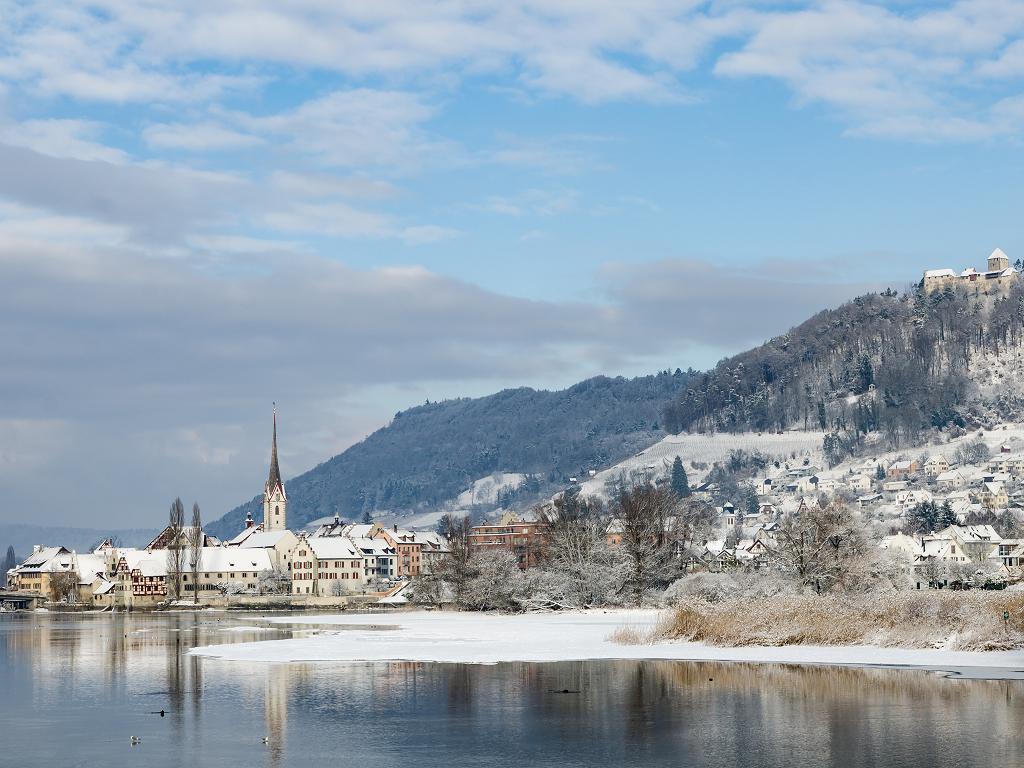 Stein am Rhein im Winter