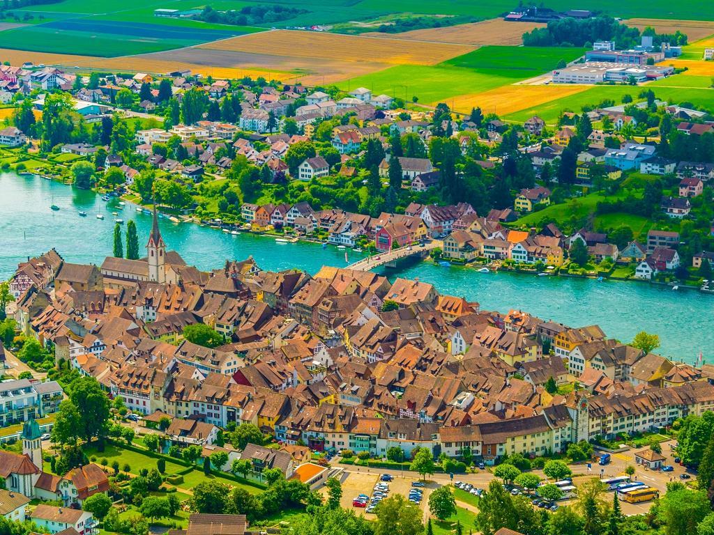 Stein am Rhein in der Schweiz