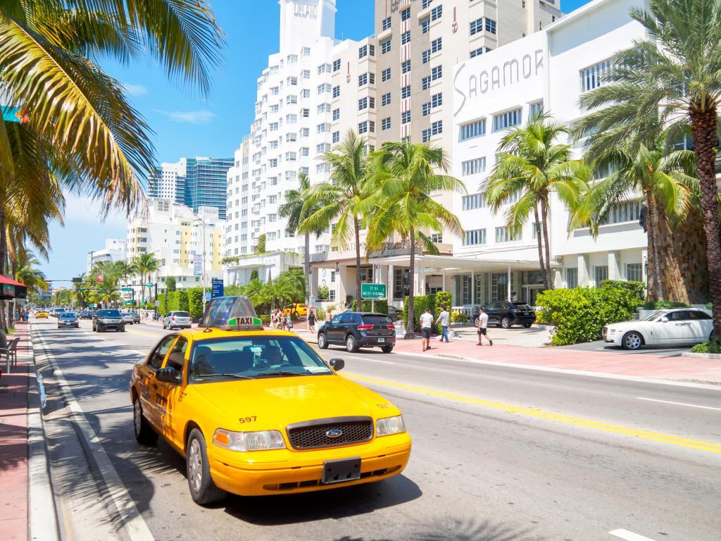 Taxi in Miami nutzen