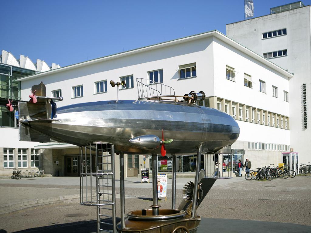 Das Zeppelin Museum in Friedrichshafen