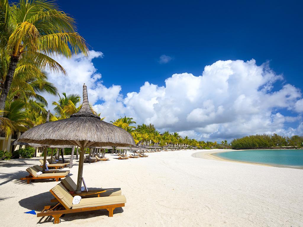 Der Strand in Mauritius