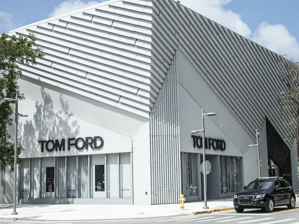 Ein Geschäft im Miami Design District
