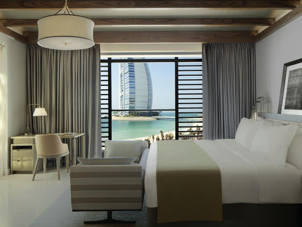 Hotelzimmer mit Blick zum Burj al Arab © Jumeirah