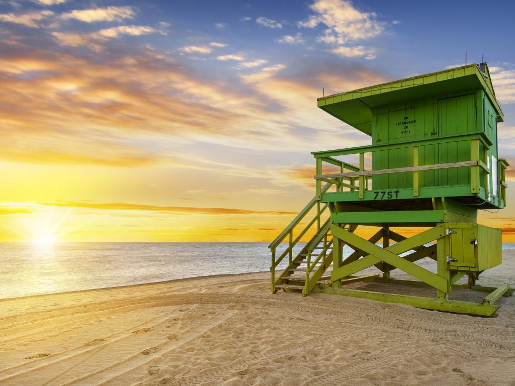 Miami Sonnenaufgang