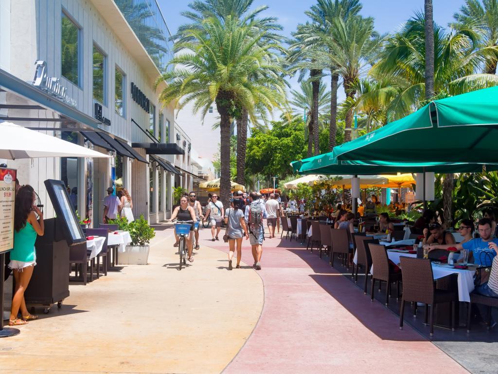 Restaurants in der Lincoln Road