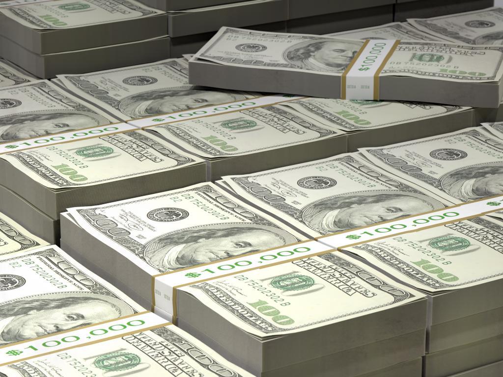 Scheine US-Dollar