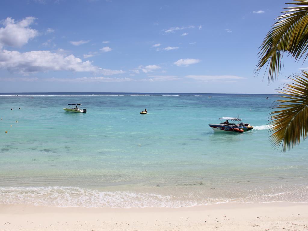 Strand in Mauritius