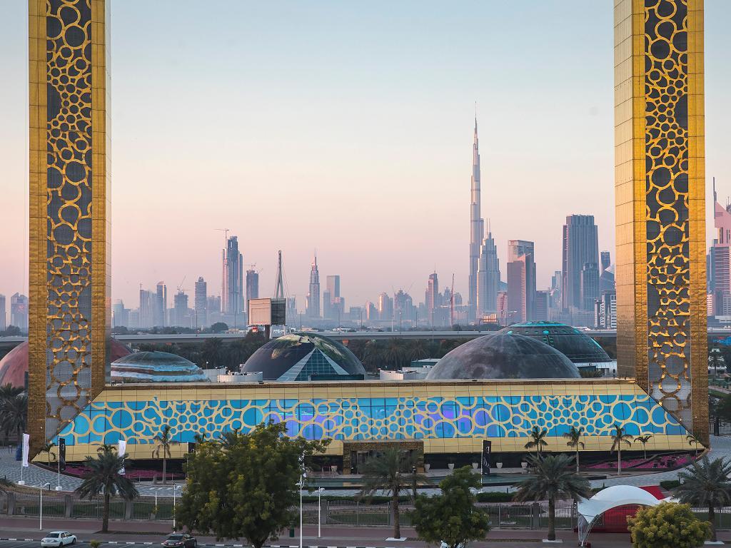 Dubai Frame Bilderrahmen