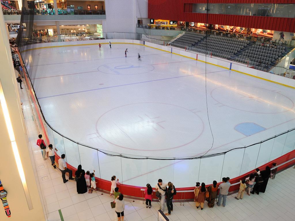 Dubai Mall Eislaufbahn
