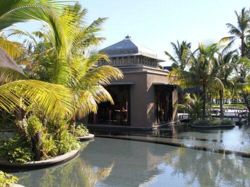 Ein Luxushotel auf Mauritius