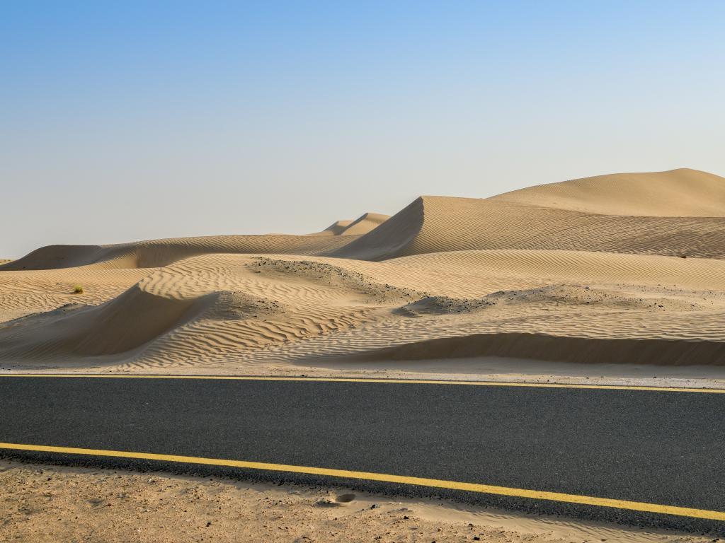 Fahrradstrecke Dubai