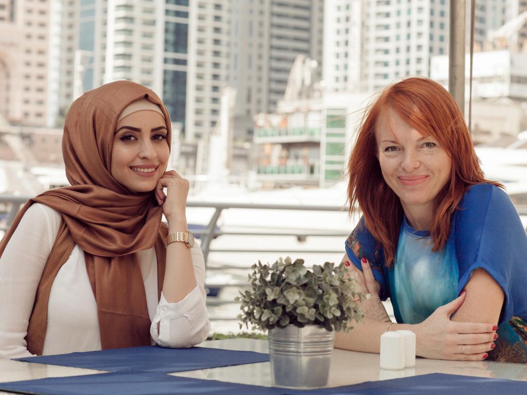 Frauen in Dubai