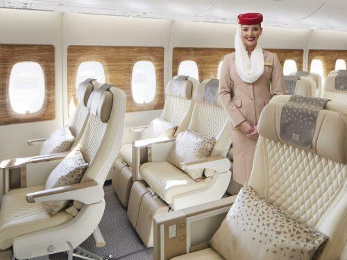Premium Economy Class © Emirates Airline
