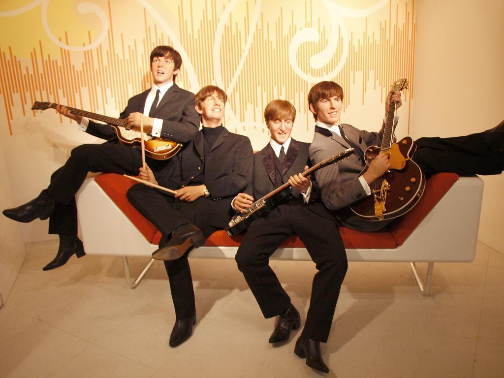 Die Beatles aus Wachs