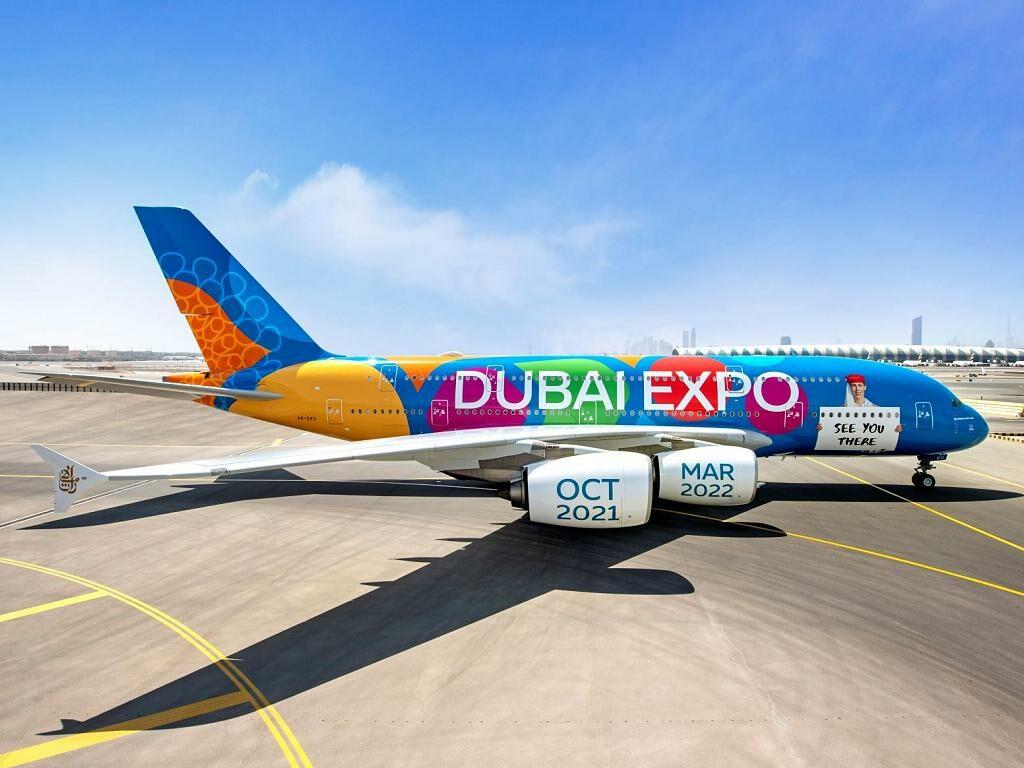 Emirates A380 Expo Sonderlackierung | © Emirates Airlines