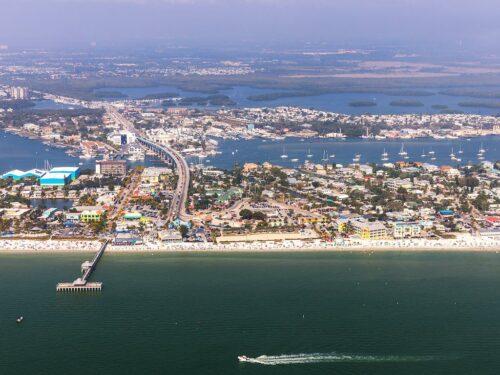Fort Myers Beach Panorama