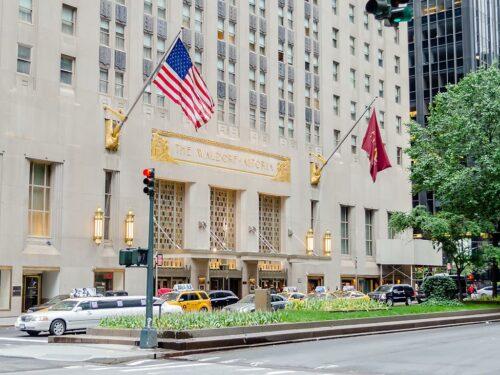 The Waldorf Astoria New York