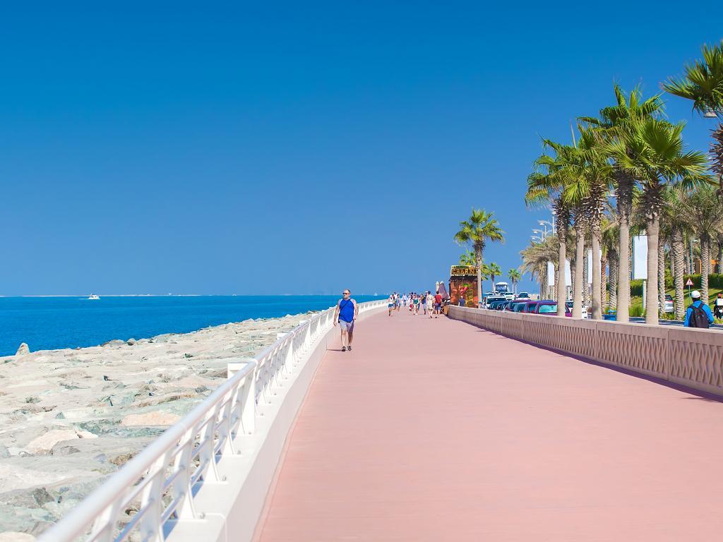 Promenade von The Palm Jumeirah